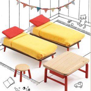 djeco wijs west wijswest online shoppen winkel amsterdam speelgoed Djeco DJ07826 Spelen 3070900078260 Kinderkamer voor Poppenhuis