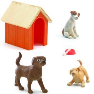 djeco wijs west wijswest online shoppen winkel amsterdam speelgoed Djeco DJ07818 Spelen 3070900078185 Honden voor Poppenhuis