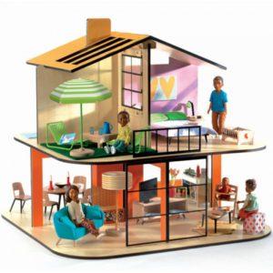 Djeco   Poppenhuis Kleur - Mon Petit Home