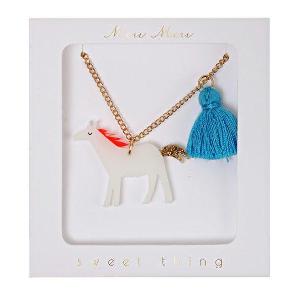 Horse tassel necklace Ketting paard Meri Meri