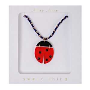 Ketting Lieveheersbeestje Necklace Ladybug Meri meri