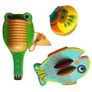 djeco wijs west wijswest online shoppen winkel amsterdam speelgoed Djeco DJ06020 Muziek 3070900060203 Percussie Set