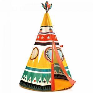 djeco wijs west wijswest online shoppen winkel amsterdam speelgoed Djeco DD04491 Spelen 3070900044913 Tipi Tent