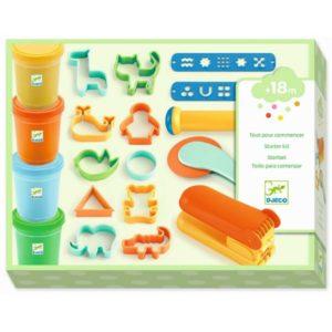 djeco wijs west wijswest online shoppen winkel amsterdam speelgoed Djeco DJ09020 Knutselen 3070900090200 Djeco Klei startkit
