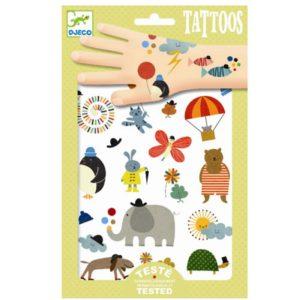 Tattoo Mooie Dingen DJ09579 WIjs West Djeco