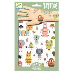 Tattoo Monsters DJ09581 Wijs West Djeco