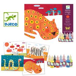 djeco wijs west wijswest online shoppen winkel amsterdam speelgoed Djeco DJ08901 Knutselen 3070900089013 Vingerverfset