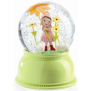 djeco wijs west wijswest online shoppen winkel amsterdam speelgoed Djeco DD03404 Verlichting 3070900034044 Nachtlampje Sneeuwglobe - Klein Meisje