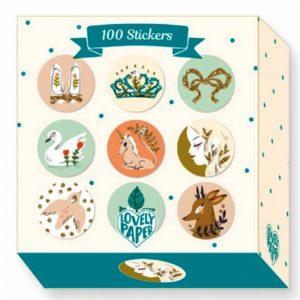 djeco wijs west wijswest online shoppen winkel amsterdam speelgoed Djeco DD03700 Knutselen 3070900037007 Lucille - 100 Stickers