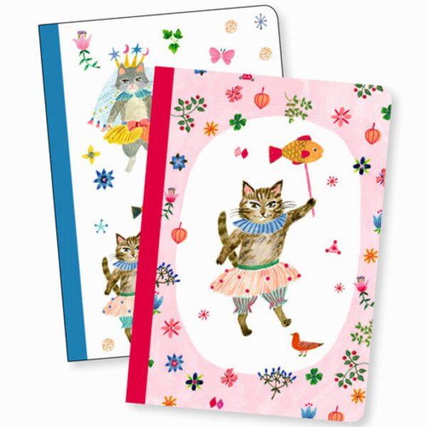 djeco wijs west wijswest online shoppen winkel amsterdam speelgoed Djeco DD03581 Knutselen 3070900035812 Twee notitieboekjes Aiko