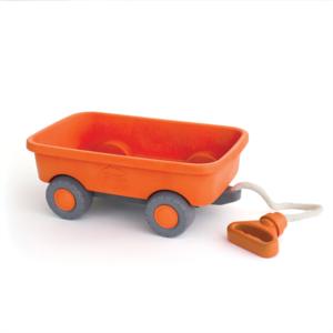 wijs west wijswest online shoppen winkel amsterdam speelgoed Green Toys GTWAGO1227 Buitenspelen 816409012274 Green Toys Oranje Trekwagen