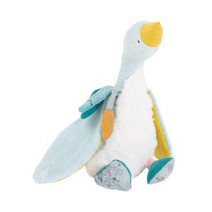 moulinroty wijs west wijswest online shoppen winkel amsterdam speelgoed Moulin Roty 714021 Knuffels 3575677140214 Moulin Roty Kleine blauwe gans Plumette