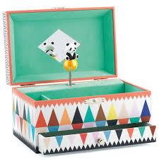 djeco wijs west wijswest online shoppen winkel amsterdam speelgoed Djeco DJ06601 Muziek 0 Muziek Sieradendoos - Panda