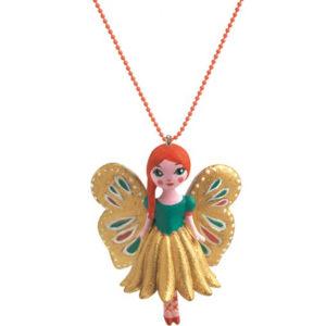 djeco wijs west wijswest online shoppen winkel amsterdam speelgoed Djeco DD03805 Accessoires 3070900038059 Djeco Ketting Vlinder