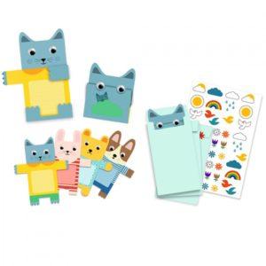 djeco wijs west wijswest online shoppen winkel amsterdam speelgoed Djeco DJ04780 Kaarten 3070900047808 Djeco Uitnodiging Doudous