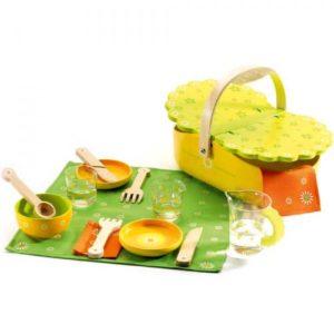 djeco wijs west wijswest online shoppen winkel amsterdam speelgoed Djeco DJ06527 Spelen 3070900065277 Djeco Picknickset