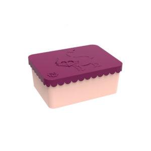 wijs west wijswest online shoppen winkel amsterdam speelgoed Blafre BL7584 Eten & Drinken 70900154839908 Blafre Lunchbox Vos Bordeauxrood