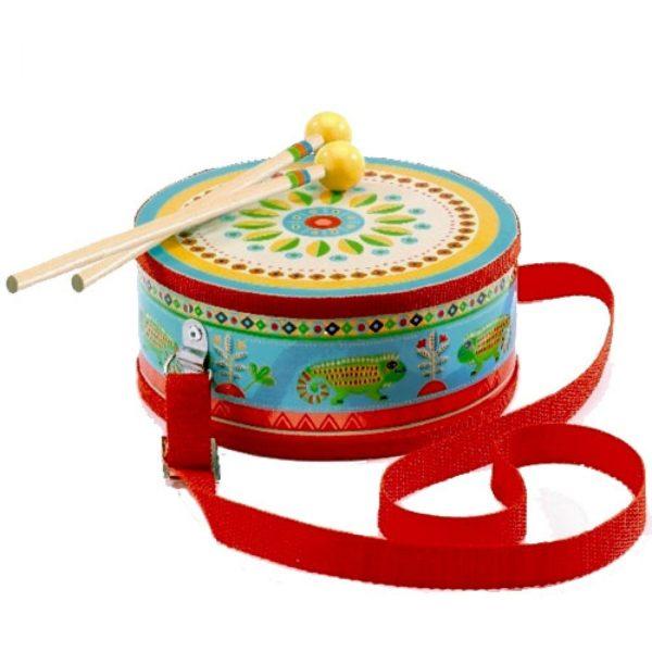 djeco wijs west wijswest online shoppen winkel amsterdam speelgoed Djeco DJ06004 Spellen 3070900060043 Djeco Trommel ANIMAMBO