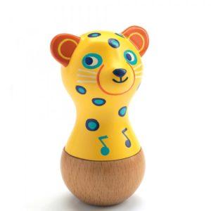 djeco wijs west wijswest online shoppen winkel amsterdam speelgoed Djeco DJ06021 Muziek 3070900060210 Djeco Maracas Jaguar
