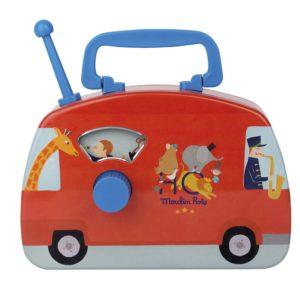 moulinroty wijs west wijswest online shoppen winkel amsterdam speelgoed Moulin Roty 720363 Muziek 3575677203636 Moulin Roty Circus Muziekbus