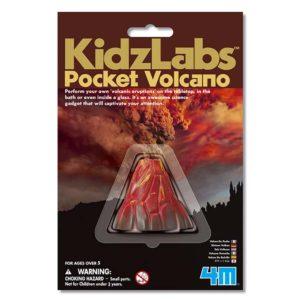 wijs west wijswest online shoppen winkel amsterdam speelgoed 4M 5603218 Experimenteren 4893156032188 Science Card Pocket Volcano