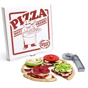 wijs west wijswest online shoppen winkel amsterdam speelgoed Green Toys GTSTPA21289 Spelen 816409012892 Green Toys Pizza Parlour