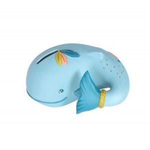 moulinroty wijs west wijswest online shoppen winkel amsterdam speelgoed Moulin Roty 714170 Woonaccessoires 3575677141709 Moulin Roty Spaarpot Walvis