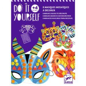 djeco wijs west wijswest online shoppen winkel amsterdam speelgoed Djeco DJ07900 Knutselen 3070900079007 Djeco Maskers Maken Dieren van de Jungle