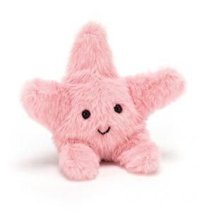 jelly cat wijs west wijswest online shoppen winkel amsterdam speelgoed Jellycat F6SF Knuffels 670983113358 Jellycat Fluffy Starfish