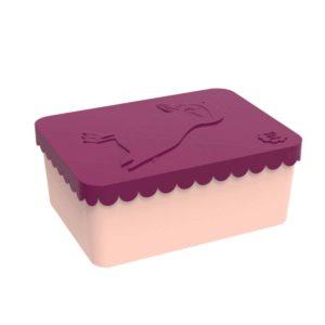wijs west wijswest online shoppen winkel amsterdam speelgoed Blafre BL7582 Eten & Drinken 7090015483885 Blafre Lunchbox Puffin Plum Rood