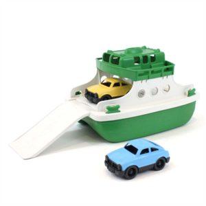 wijs west wijswest online shoppen winkel amsterdam speelgoed Green Toys GTFRBGW1290 Voertuigen 816409012908 Green Toys Ferry - Groen