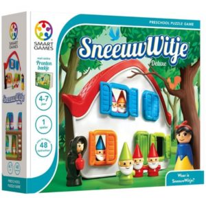 5414301520146 smart games puzzelspel sneeuwwitje deluxe Wijs West