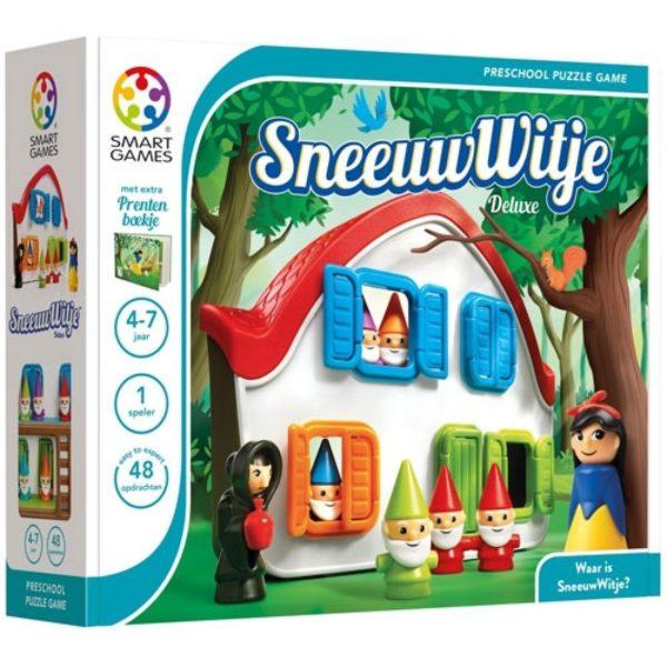 5414301520146 smart games puzzelspel sneeuwwitje deluxe Wijs West