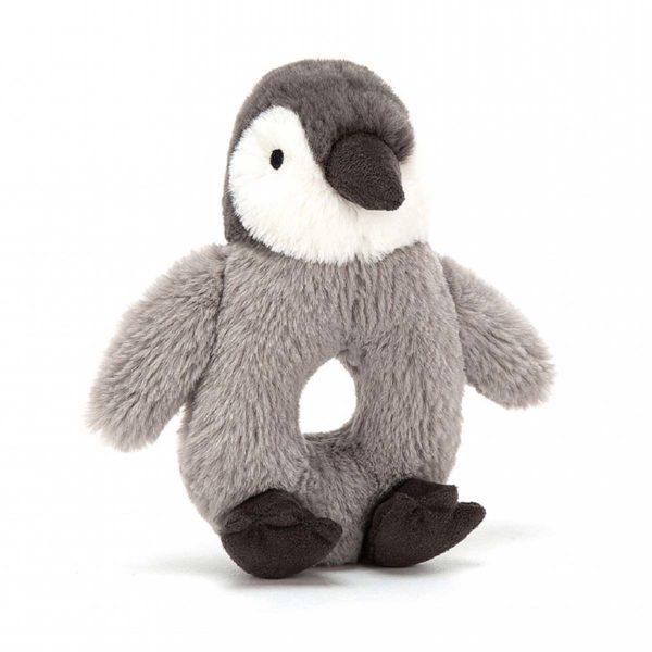 jelly cat wijs west wijswest online shoppen winkel amsterdam speelgoed Jelly Cat PER4PG Opruimen 670983118094 Percy Penguin Rammelaar