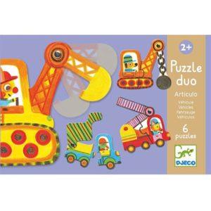 djeco wijs west wijswest online shoppen winkel amsterdam speelgoed Djeco DJ08170 Puzzels 3070900081703 Djeco Puzzel Voertuigen