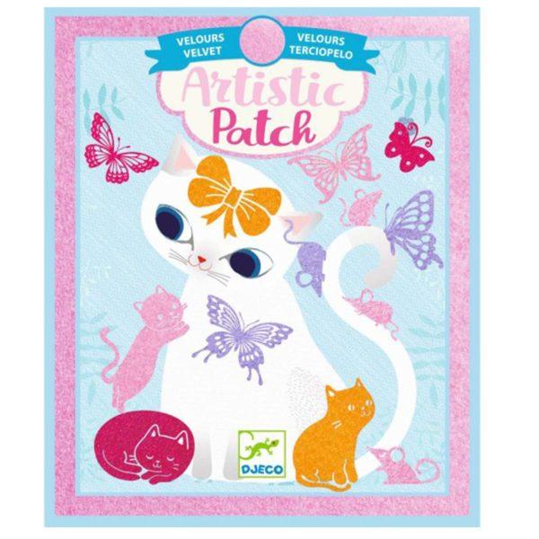 djeco wijs west wijswest online shoppen winkel amsterdam speelgoed Djeco DJ09469 Knutselen 3070900094697 Artistic Patch - Little pets