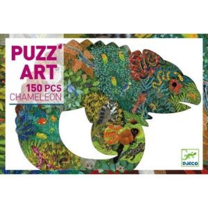 djeco wijs west wijswest online shoppen winkel amsterdam speelgoed Djeco DJ07655 Puzzels 3070900076556 Djeco Puzzel Kameleon 150 pcs