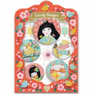 djeco wijs west wijswest online shoppen winkel amsterdam speelgoed Djeco DD03853 Knutselen 3070900038530 Djeco Buttons Japan