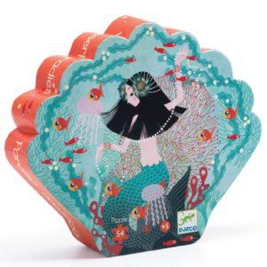 djeco wijs west wijswest online shoppen winkel amsterdam speelgoed Djeco DJ07242 Puzzels 3070900072428 Djeco Puzzel Paradis aquatique - 54 pcs