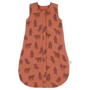 Muslin sleeping bag   70cm - Brave Bear