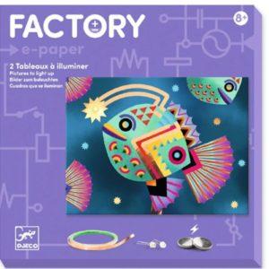 djeco wijs west wijswest online shoppen winkel amsterdam speelgoed Djeco DJ09314 Knutselen 3070900093140 Djeco Knutselset Abysses