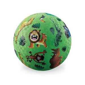 crocodile creek speelbal groen wilde dieren online wijs west