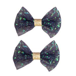 Global_affairs_Hairclips-Tulle-Bow-blauw_speldje_speldje
