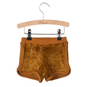 Wijs west Little Hedonist SweatshortGigi Gold  SS20 Kleding & Accessoires Broeken Korte Broeken