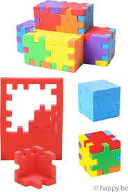 Wijs west Smart Games Smart  Happy Cube Expert 009234333335 Smart Speelgoed & Spellen Spellen