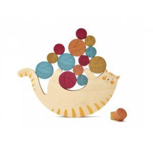 londji meow houten spel balanceren poes houten speelgoed online amsterdam de leukste kinderspullen