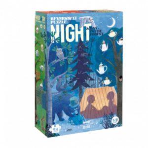 Londji Dag en Nacht puzzel met 50 stukjes voor kinderen flow in the dark