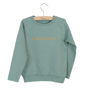 Wijs west Little Hedonist Sweater Caecilia Print Chinois Green  SS20 Kleding & Accessoires Sweaters & Truien