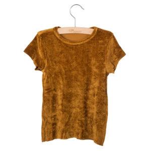 Wijs west Little Hedonist T-shirt Dean Gold  SS20 Kleding & Accessoires Shirt