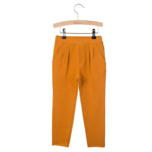 Wijs west Little Hedonist Pleated Trousers Kobus Pumpkin Spice  SS20 Kleding & Accessoires Broeken